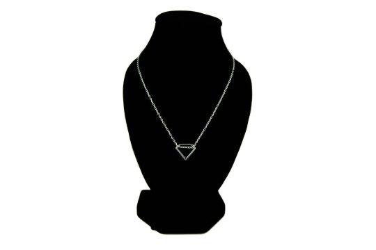 Náhrdelník diamant - pravé striebro