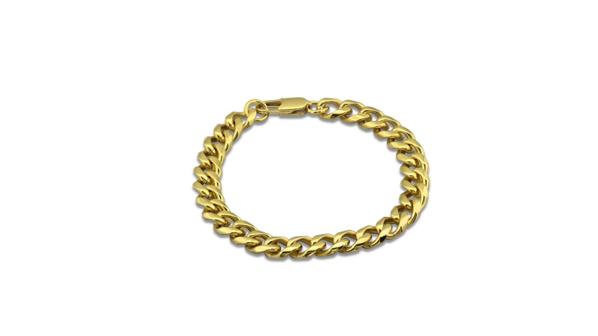 962440a5c ... Zlatý pánsky náramok 3,5cm – chirurgická oceľ. 🔍. Previous. Next