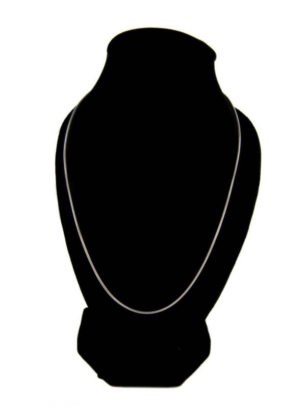 Strieborná okrúhla retiazka