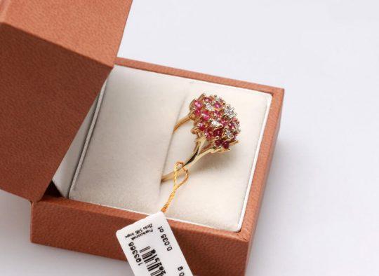 Dalia golden pink