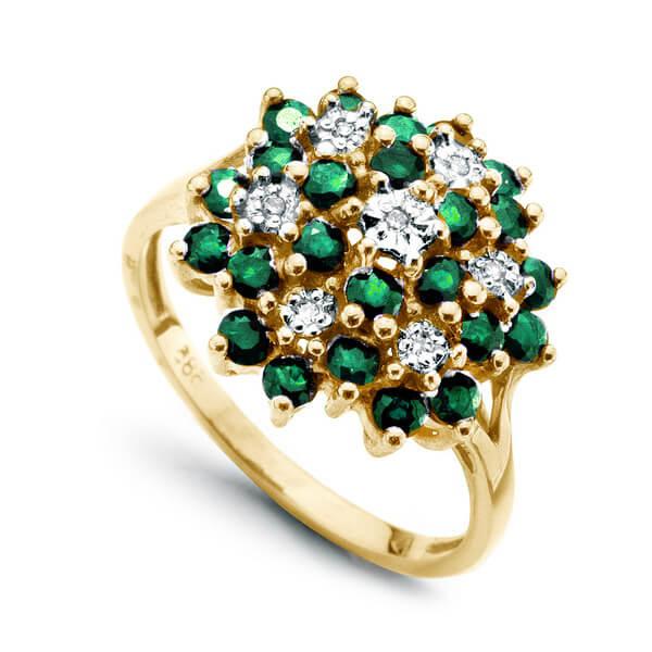 Dalia golden green