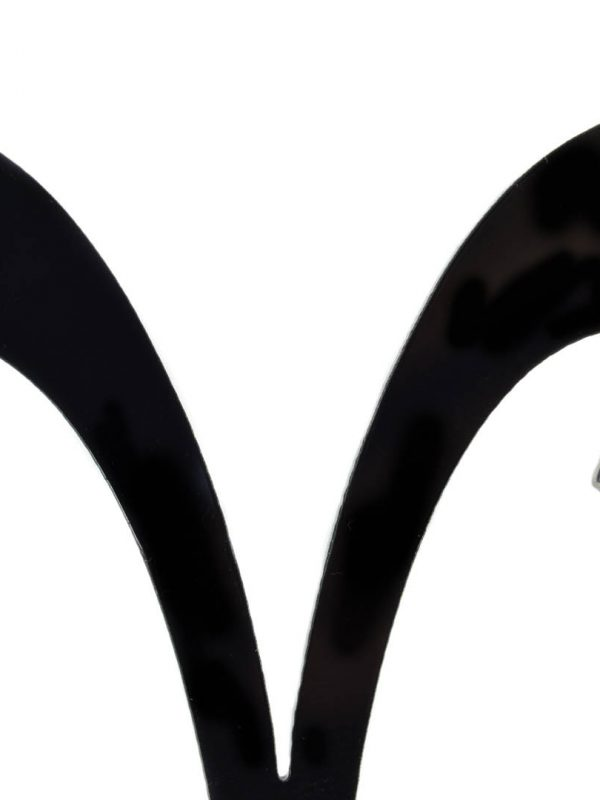 náušnice s hnedým zirkónom