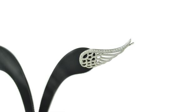 náušnice krídla