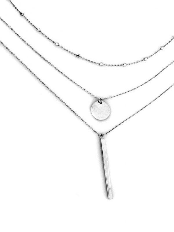 Dámsky vrstvený náhrdelník