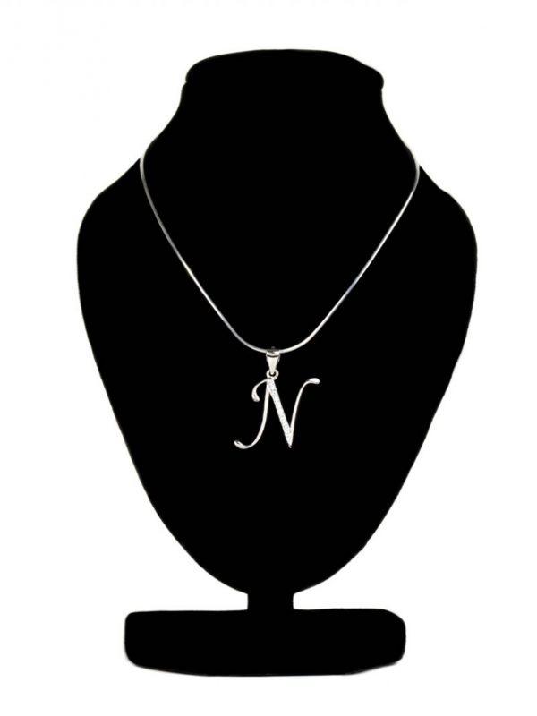 Náhrdelník s písmenom N