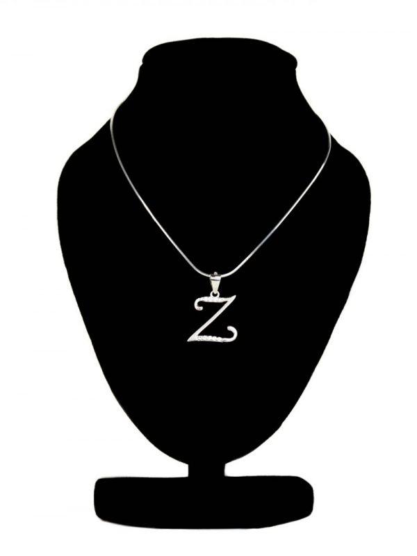 Náhrdelník s písmenom Z - pravé striebro