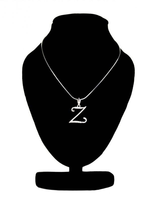 náhrdelník s písmenom Z
