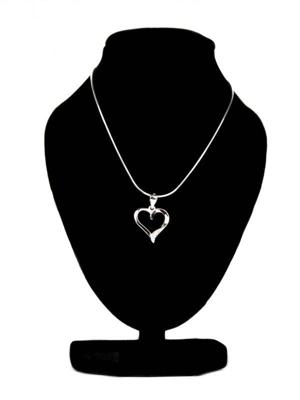 náhrdelník so srdiečkom