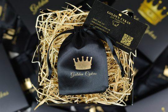 Zlaté náušnice guličky